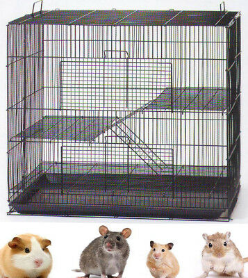 3 Level Chinchilla Guinea Pig Small Animal Rat Mice Syrian Hamster Mouse Cage053