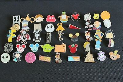Disney Trading Pins Lot Of 20 -100% Tradable - No Duplicates - Fast U.s. Shipper