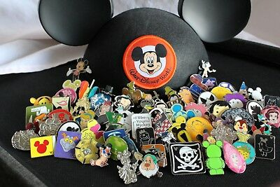 Disney Trading Pins Lot Of 100 -100 Tradable - No Duplicates - Fast U.s. Shipper