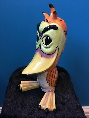 lorna bailey giant 10 inch tall duck signed immaculate condition