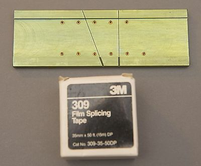 30MM Film Splicer with an old roll of 3M Tape