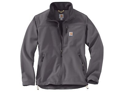 65962c80f57a5 CARHARTT MEN'S MEDIUM Regular Denwood Soft Shell Jacket Charcoal ...