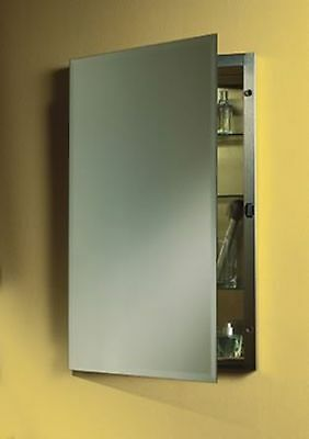Delicieux Jensen 1448 Galena Frameless Medicine Cabinet With Beveled Mirror, 16 Inch  By.