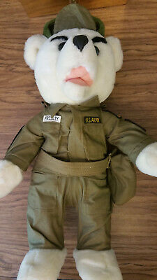 Elvis Presley Army Bear collectable (20 inch)