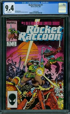Rocket Raccoon 1 CGC 9.4 - White Pages