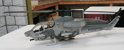 1 18 21st Century Toys Marines Ah 11 Super Cobra Helicopter 30 Good Condition