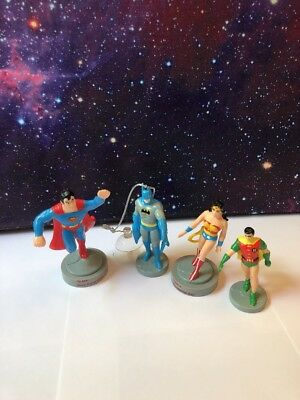 Vintage 1988 1989 DC Comics Presents Superman Batman Wonder Woman Robin Set