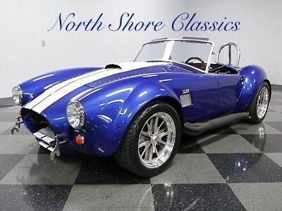 Shelby Cobra -BACKDRAFT 427 #230 Built-WITH T10 MANUAL TRANSMIS 1965 Shelby Cobra, Blue with 9,578 Miles available now!