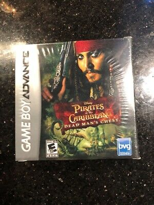 Pirates of the Caribbean Dead Man's Chest Game Boy Advance New Factory Sealed