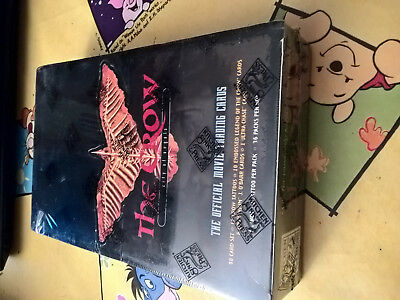 1 Box The Crow Movie Trading Cards+ 33 Booster Pack City Of Angel+ 33 Masterpack