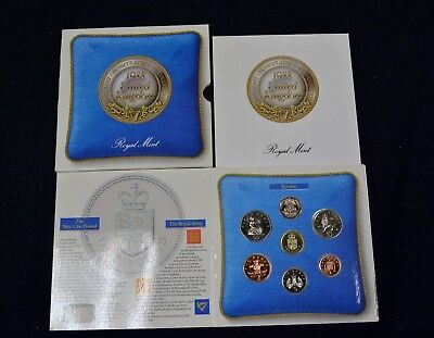 1988 United Kingdom Brilliant Uncirculated Royal Mint 7-Coin Collection Set