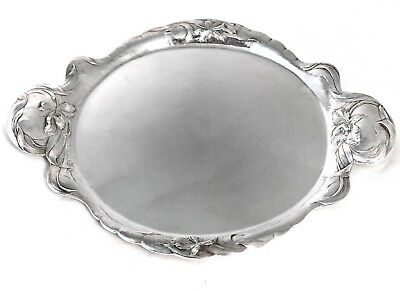 A Reed And Barton Art Nouveau, Martele' Style, Sterling Silver Tray