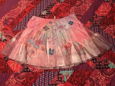 Justice Girls Butterfly Skirt 💕💕size 14