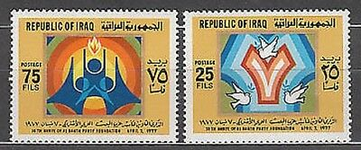 Iraq - Mail Yvert 816/7 Mnh