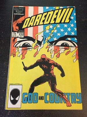 Daredevil#232 Incredible Condition 9.2(1986)1st Nuke App!!