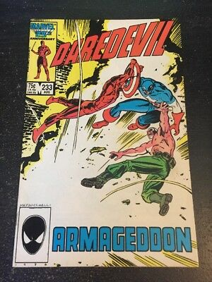 Daredevil#233 Incredible Condition 9.0(1986) 2nd Nuke App!!