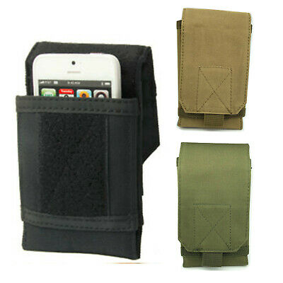 Tactical Army Military Molle Pouch Cell Phone Pocket Case Waist Pack Belt Bag 6""