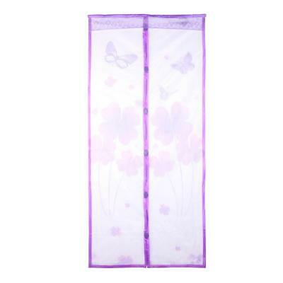 Clover Anti Mosquito Insect Fly Bug Curtains Magnetic Mesh Net Door Screen TN2F
