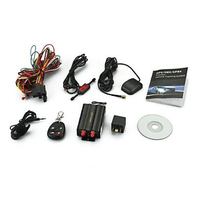 TK103B car Auto GSM/ GPRS/ GPS Device Locator Alarm Tracker Set + Remote Co T3P7