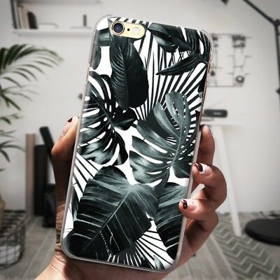 Tropical Green Leaves Phone Case For iPhone Samsung Summer Plants Leaf Case Hard