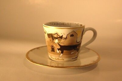 chat Rosina Wachtmeister tasse expresso