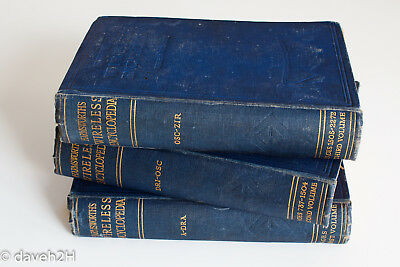 Harmsworth's Wireless Encyclopedia - unique 1920s reference  - 3 volumes