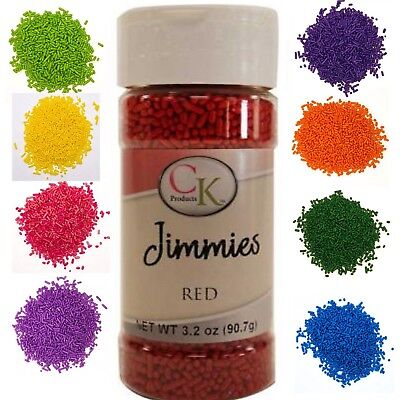 CK Products JIMMIES Sprinkles 90g Bottle - range of colours
