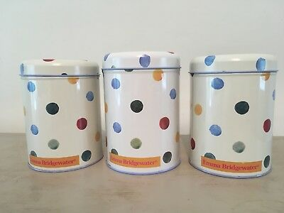 Set of 3 Emma Bridgewater tins