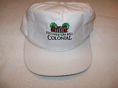 New (Southwestern Bell Corp) Colonial Golf Course Logo White Hat