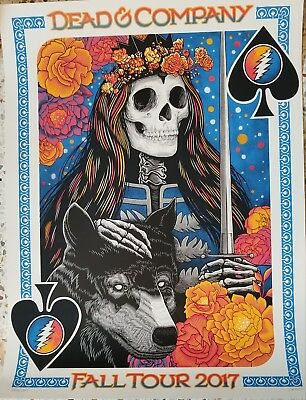Dead and Company VIP Poster Fall Tour 2017