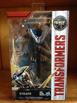 Transformers TLK The Last Knight Premier Edition Deluxe Strafe MISB