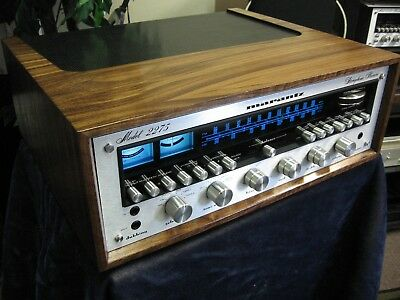 Marantz 2275 Stereo Am/fm Receiver With Wood Cabinet Fully Restored