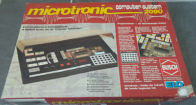 "Busch  ""microtronic 2090"" Computersystem, funktionstüchtig mit 2095 Interface"