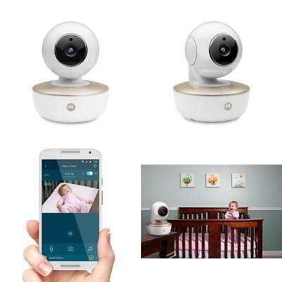 Motorola MBP88CONNECT Portable Wi-Fi Video Baby Camera with Remote Pan, Tilt, Zo