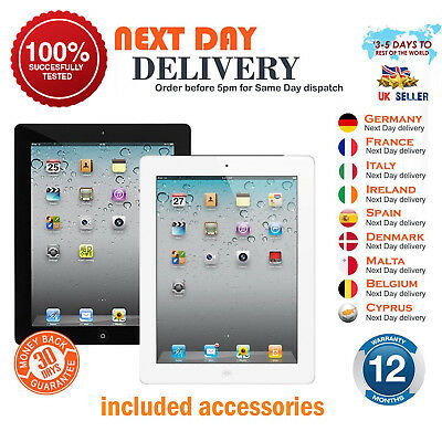 Apple iPad 2 -16/32/64GB - WiFi or 3G - 9.7in - Black or White - Various Grades