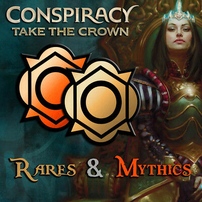 MTG - Choose Your Conspiracy: Take the Crown Rares and Mythic Rare Cards