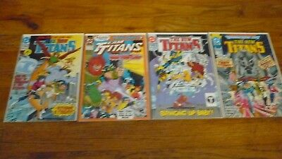 New Teen Titans Lot  of 4  DC Comic books VF/NM