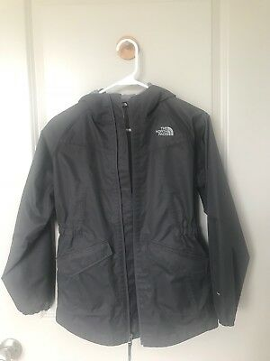 north face girl jacket size 14/16 Color Dark Gray