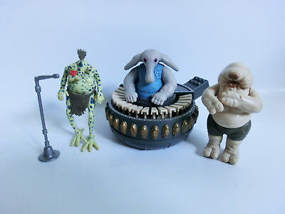 Star Wars Vintage Sy Snootles And The Max Rebo Band Action Figuren Kenner