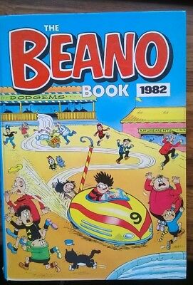 The Beano Annual Book 1982 (Good Condition)