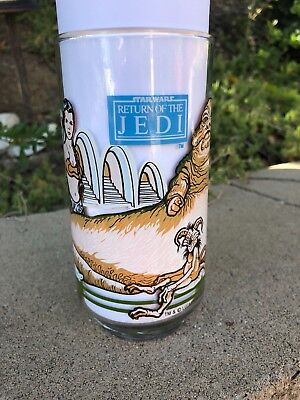 Star Wars Return Of The Jedi C-3Po Ewoks Burger King Coca-Cola 1983 Glass