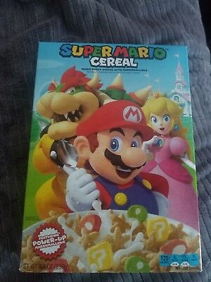 Kelloggs Super Mario Cereal - Brand New Factory Sealed