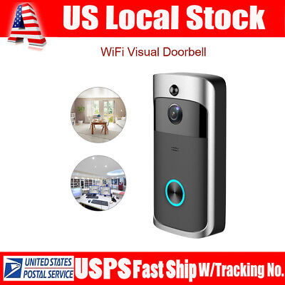 Smart Wireless WiFi DoorBell Video Phone Visual Camera Home Door IR Night Vision
