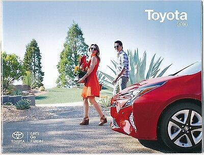 2016 Toyota Full Line-Up Genuine Factory Sales Brochure / NEW / FREE SHIPPING