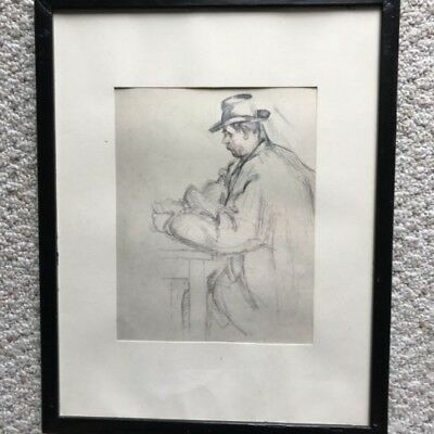 Paul Cezanne Original Drawing With Provenance