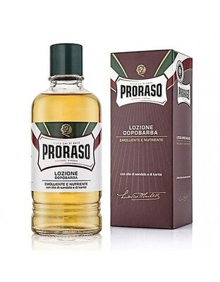 Proraso Sandalwood-Shea Oil After Shave Lotion 400ml / SAME DAY POST
