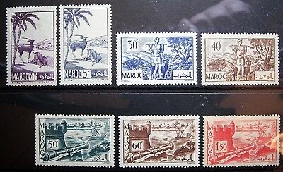 Morocco - 7 Mint Stamps, Quallity Small Lot, Add To Your Collection