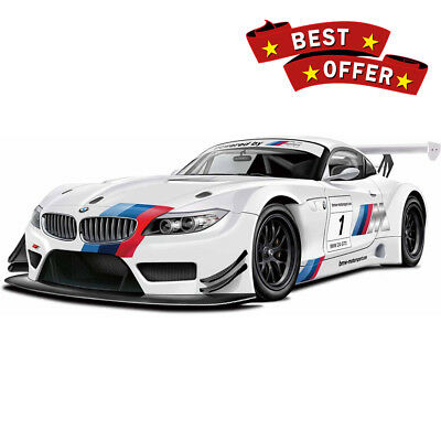 BMW Z4 GT3 for Racing Metal Model Sport Car White Automodel AUTOPROM 1/24 Scale