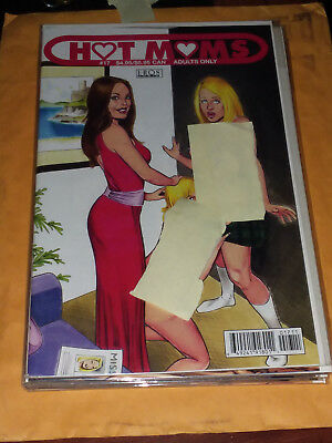 Eros Comics: Hot Moms # 17 Rare And Mint!! 18+ To Buy, Adult Material