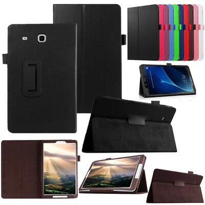 For Samsung Galaxy Tab E 9.6 SM-T560NU T567 T560 T561 T565 PU Leather Case Cover